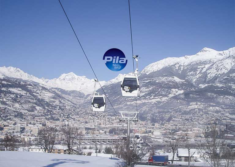 Thumb - Aosta-Pila cable way